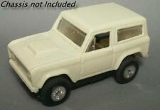 Resin HO scale Ford Bronco U100 1966 - 1977 first generation t-jet body