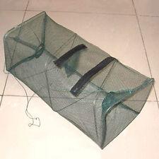 Foldable Fishing Bait Trap Cast Nets Cage Shrimp Crawdad Minnow Basket CME5