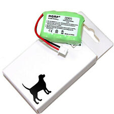 HQRP Battery for Dogtra 200NCP 210NCP 7002M EF-3000 YS-200 Dog Collar