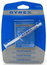 Dynex Silver-Based Thermal Compound 5g Syringe CPU Heat Sink Paste Grease Paddle