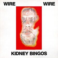 "WIRE Kidney Bingos 12"" LP UK 1988 MUTE (Chairs Missing / Pink Flag)"