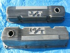 M/T FORD valve covers 351-C HOLLEY-MICKEY THOMPSON 103R-40B (400ci too?)
