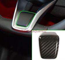 Real Carbon Fiber Steering Wheel Decoration Cover For Alfa Romeo Stelvio 20-2021