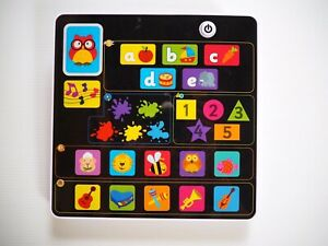 Early Learning Centre Little Learning Pad iPad Tablet Interactive Figurines Game
