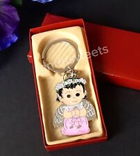 24-Baptism Favors Communion Angel Recuerdos Mi Bautizo Party Favors Keychains