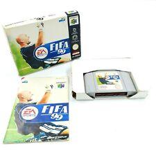 FIFA 99 - Nintendo 64 N64 - En boite avec notice - PAL FRA
