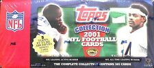 2001 Topps Football Collection Factory Set