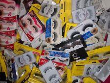 100% Human Hair Eyelash Lot Over 100 Pair Strip Eyelashes