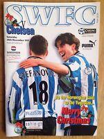 Sheffield Wednesday v Chelsea 1997/98 programme