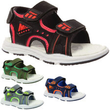New Boys Sports Outdoor Kids Childrens Summer Infants Hiking Touch Strap Sandals