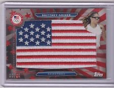 RARE 2016 TOPPS OLYMPIC BRITTNEY GRINER FLAG PATCH CARD ~ /25 ~ BAYLOR ~ WNBA