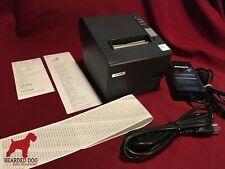 Epson Tm T88iv Pos Usb Thermal Receipt Printer M129h Withps 180 Power Amp Usb Cords