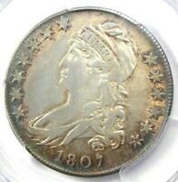 1807 Capped Bust Half Dollar 50C - Certified PCGS XF40 (EF40) - $1,600 Value!