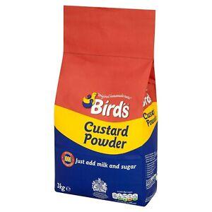 Birds Instant Creamy Custard Powder Just Add Milk, Sugar Tastes Delicious Try it