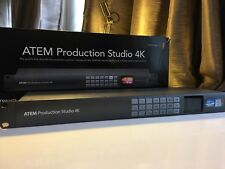 Blackmagic Design Atem production studio 4K Ultra HD LIVE Switcher di produzione