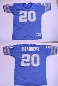 Men's Detroit Lions Barry Sanders L (44) Vintage Jersey Champion Jersey