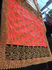Designer Bridal Heavy Silk Saree Soft Material