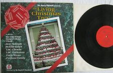 The Living Christmas Tree Dr Jerry Falwell LP Old Time Gospel Hour TRB11 EX