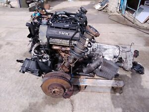 BMW E53 X5 COMPLETE 4.4 V8 ENGINE, GEARBOX AND ALL FRONT END RUNNING GEAR