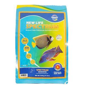 New Life Spectrum Large Fish 2200 gram Bag Apx 3-3.5mm Sinking Pellets