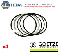 4x ENGINE PISTON RING SET GOETZE ENGINE 08-203100-00 I STD NEW OE REPLACEMENT
