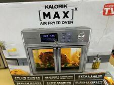 New listing New Kalorik 26 Qt Digital Maxx Air Fryer Oven with 9 Accessories