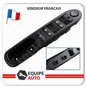 Platine de lève-vitre électrique avant gauche pour Peugeot 407 = 6554ER