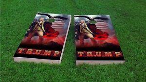 Trump Revere Custom Cornhole Board Game Set