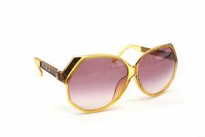 Christian Dior Vintage Sunglasses EYEWEAR Big Frame Classic Yellow 4954k