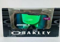 Oakley Airbrake Asian Fit Snow Goggle, Jet Black, Prism Snow, Airbrake XL