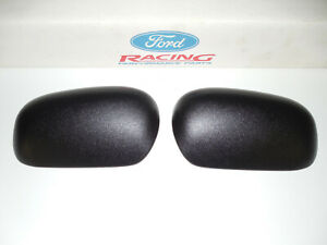 98-11 FORD CROWN VICTORIA POLICE RIGHT & LEFT SIDE MIRROR CAPS COVERS SET OEM