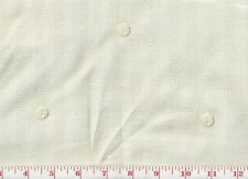 Ivory Embroidered Dot Clarence House Drapery Fabric R$208y Lucerne CL Cream