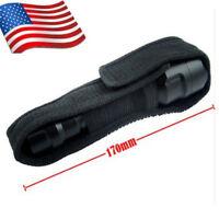 18cm Nylon Holster Holder Case Belt Pouch For LED Flashlight Torch Lamp US Stock