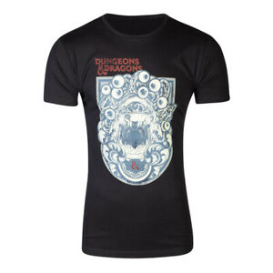 HASBRO Dungeons & Dragons Iconic Print T-Shirt Male Extra Extra Large Black