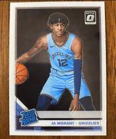 Ja Morant 2019-20 Optic Base Rookie Card Memphis