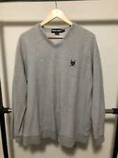Vintage Polo Ralph Lauren Sweater Jacket Polo Sport Golf Pullover XL Crest