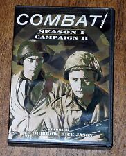 COMBAT Season 1: Campaign 2 (4-Disc DVD Set, 1962) Vic Morrow EXC/COND.