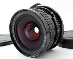 SMC PENTAX 67 45mm f/4 Wide Angle Lens 6x7 67II [N MINT] Japan 870365