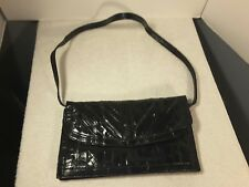 Vintage Eel Lady Black Purse