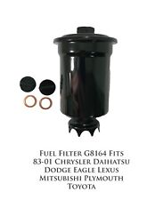 Fuel Filter G8164 Fits 83-01 Chrysler Dodge Eagle Lexus Mitsubishi Plymou Toyota