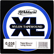 D'addario Single Bass Nylon Tape Wound 035 Long Scale
