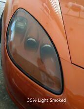 Corvette C6 Smoked Precut HEADLIGHT & FOG Smoke Overlays Vinyl Tint (35% Light)