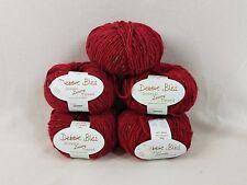 Debbie Bliss Donegal Luxury Tweed Wool & Angora Knitting Yarn Red 04 Iceland