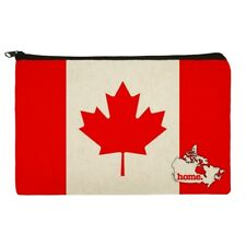 Canada Home Country Flag Officially Licensed Makeup Cosmetic Bag Organizer Pouch