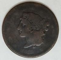 1839 Large Cent Booby Head Full Liberty Clear Date