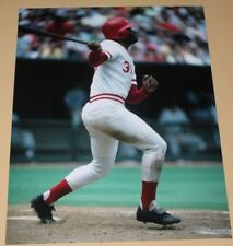 Ken Griffey Cincinnati Reds unsigned color 8x10 photo MLB