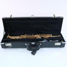 LA Sax Big Lip 'X' Soprano Saxophone in Lacquer with Tilt Bell DISPLAY MODEL