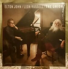 Elton John + Leon Russell The Union Lp Rare Sealed Condition