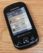 Samsung Boost Mobile Slider Style Fake Screen Dummy Display Phone **READ**