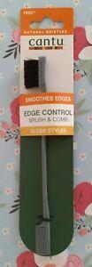 cantu EDGES CONTROL smoothes edges BRUSH & COMB Sleek Styles